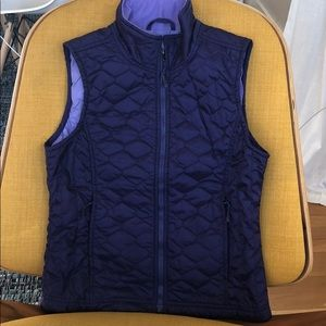 L.L. Bean purple vest